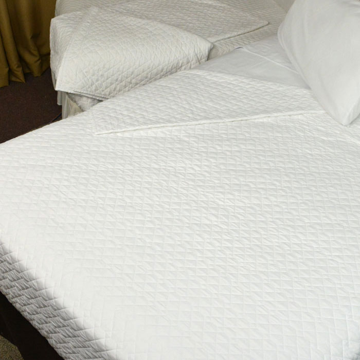 Kartri Quilted Impressions Double Diamond Decorative Top Sheet King Custom Decorative Box Spring Cover King