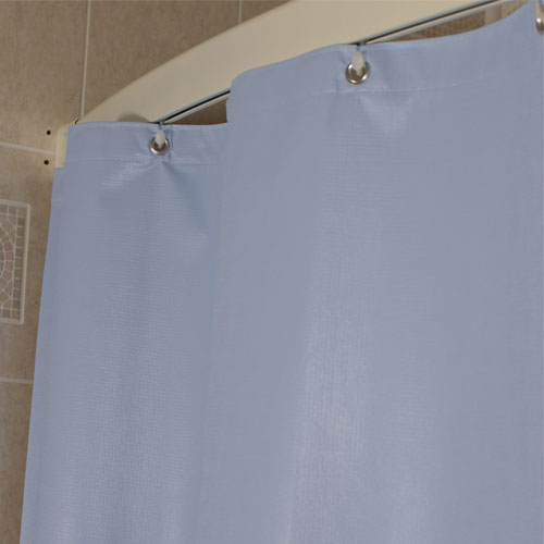 Rain Curtain Water Feature NFPA 701 Shower Curtains