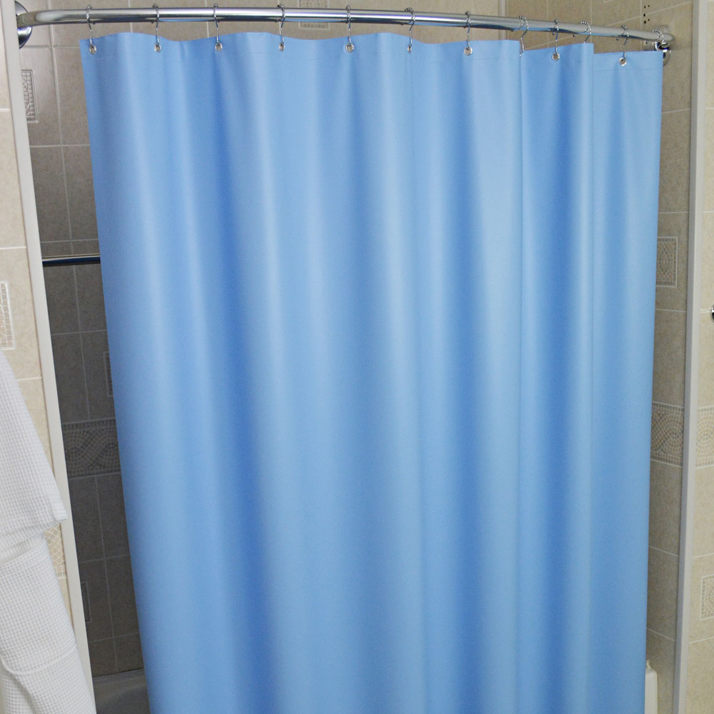 Kartri 10 Gauge Sanford Vinyl Shower Curtain w/ Metal Grommets 72x72 ...