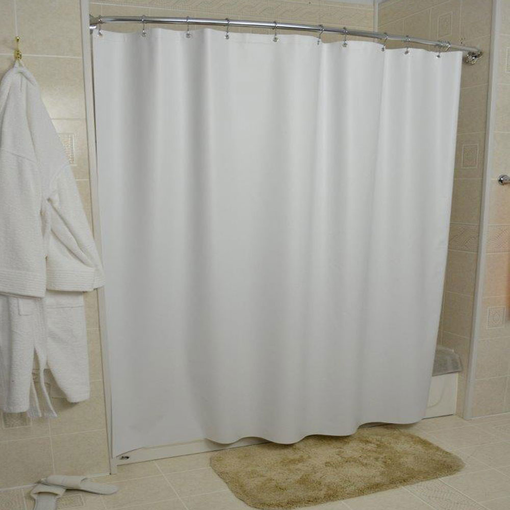 Kartri 10 Gauge San Suede Vinyl Shower Curtain W Metal