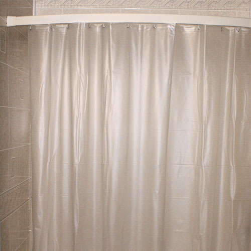 Kartri 10 Gauge San Suede Executive Flame Retardant Vinyl Shower Curtain W Metal Grommets 36x72 White Or Frosty 24 Per Case Price Each