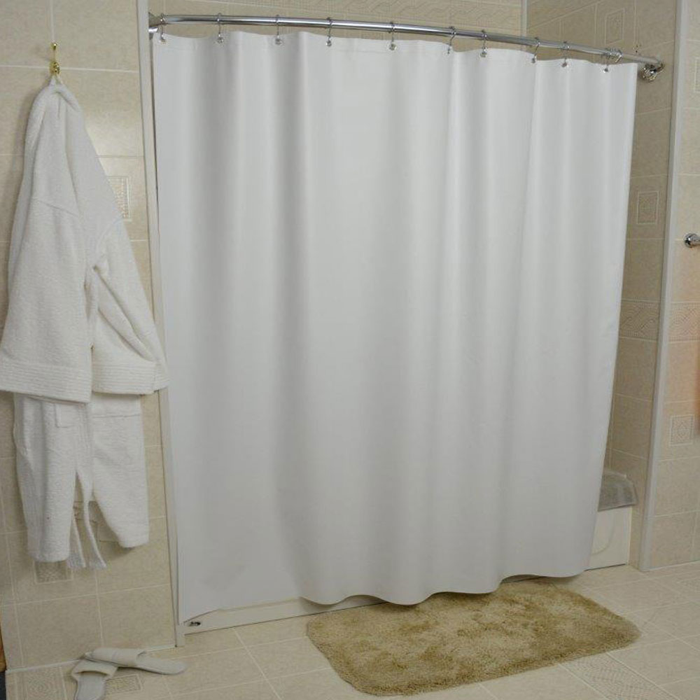 Kartri 6 Gauge Vintaff Vinyl Shower Curtain W/ Metal Grommets 36x72 24 Per  Case Price Per Each