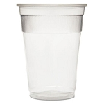 9 Oz. Individually Wrapped Rigid Plastic Cups 1000 Per Case