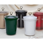 Lancaster Colony Harmony 4 Qt. Ice Bucket w/ Standard Gold Ring Knob 12 Per Case Price Per Each