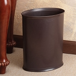 Lancaster Colony Design Line 13 Qt. Ignition Resistant Oval Wastebasket 8 Per Case Price Per Each