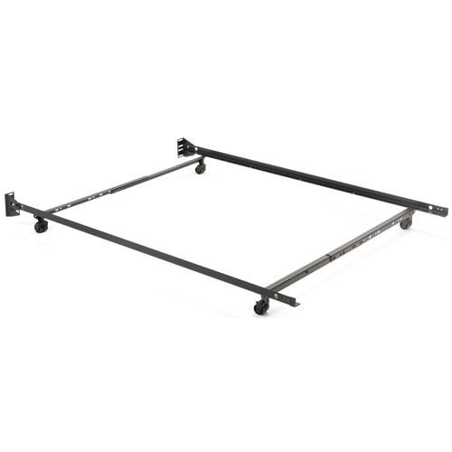 Leggett & Platt Low Profile Bed Frames w/ 4 Legs & Wide Carpet ...