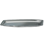 NuSteel Elite Double Wall Stainless Amenity Tray 24 Per Case Price Per Each