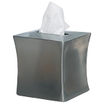 NuSteel Elite Double Wall Stainless Boutique Tissue Box Cover 12 Per Case Price Per Each