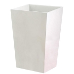 NuSteel Elegant Resin 7 Qt. Wastebasket 3 Per Case Price Per Each