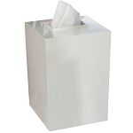 NuSteel Elegant Resin Boutique Tissue Box Cover 6 Per Case Price Per Each