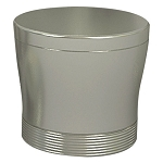 NuSteel Special Pewter Finish Swab/Cotton Container 24 Per Case Price Per Each