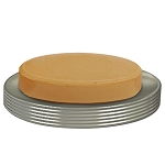 NuSteel Special Pewter Finish Soap Dish 24 Per Case Price Per Each