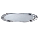 NuSteel Timeless Chrome Finish Amenity Tray 24 Per Case Price Per Each