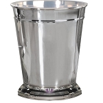 NuSteel Timeless Chrome Finish 9 Qt. Wastebasket 6 Per Case Price Per Each