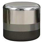 NuSteel Triune Platinum 3 Tone Finish Cotton Jar 24 Per Case Price Per Each