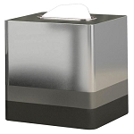 NuSteel Triune Platinum 3 Tone Finish Boutique Tissue Box Cover 12 Per Case Price Per Each