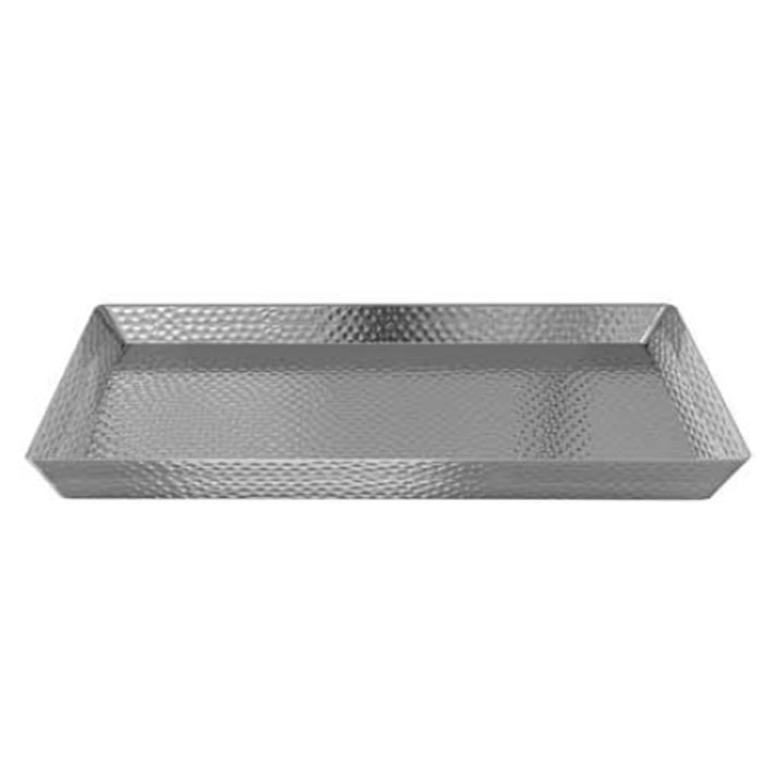 NuSteel Hammered Mirror Finish Guest Towel Holder 24 Per Case Price Per Each
