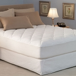 Pacific Coast 24 Oz. Super Mattress Topper w/ Proguard & Fitted Skirt Full 54x80 2 Per Case Price Per Each