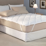 Pacific Coast 24 Oz. Super Mattress Topper w/ Proguard & Anchor Bands Full 54x80 2 Per Case Price Per Each