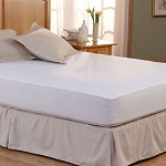 Pacific Coast Bed Defender Waterproof Mattress Pad w/ Fitted Skirt Twin 39x80 6 Per Case Price Per Each
