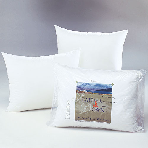 u003e phoenix down damask compartment pillow king 20x36 37 oz fill 20 white duck down80 feather 6 per case price per each