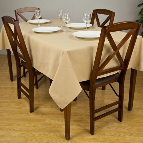 Riegel Premier 100% Spun Polyester Square Tablecloth 85x85 1 Dz Per Case  Price Per Dz