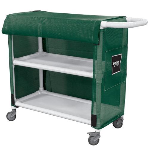 Royal Basket 24 Quot Pvc Linen Cart W 2 Shelves