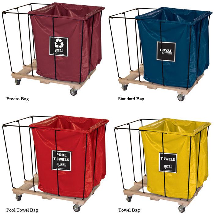Royal Basket 18 Bushel Vinyl 2 3 Drop In Divider Bag