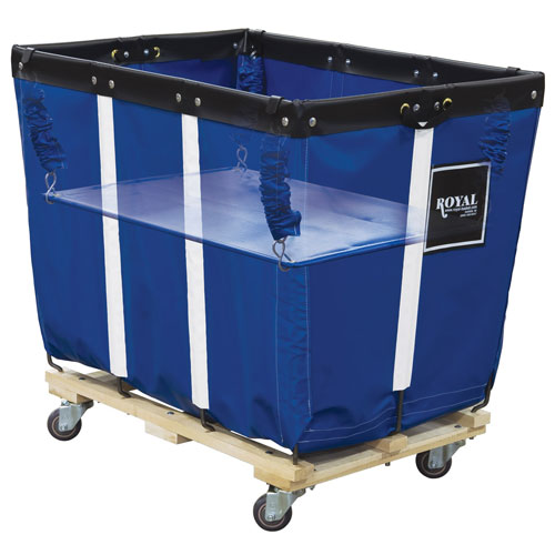 Royal Basket 8 Bushel Vinyl Basket Truck Spring Lifts
