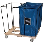 Removable Liner Basket Trucks & Carts