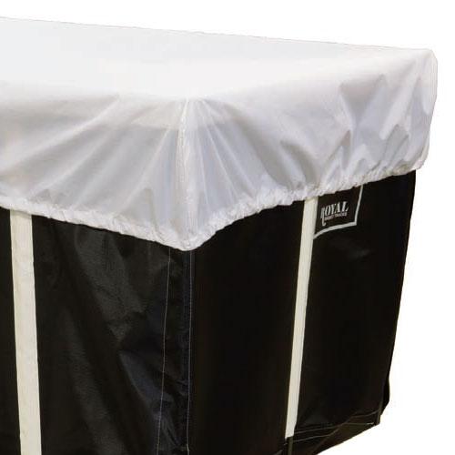Royal Basket 8 Bushel White Nylon Cart Cover