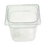 Rubbermaid Commercial 105PCLE Cold Food Pan 1/6 Size 1 2/3 Qt. Capacity 4