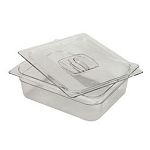 Rubbermaid Commercial 124PCLE Cold Food Pan 1/2 Size 6 3/8 Qt. Capacity 4