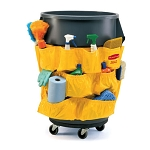 Rubbermaid Commercial 264200YW Gallon Brute® Caddy Bag For 2632 2643 Containers Yellow