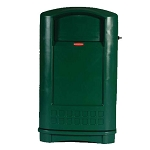 Rubbermaid Commercial 3964 DGR 50 Gallon Plaza™Container Dark Green