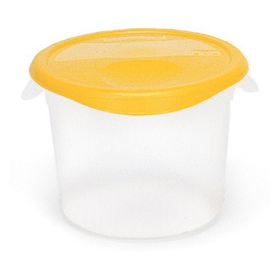 Rubbermaid Commercial 572624CLE 12 Qt. Round Storage Containers And Lids 13-1/8x8-1/8 Clear  sc 1 st  American Hospitality Supply & Rubbermaid Commercial 572624CLE 12 Qt. Round Storage Containers And ...