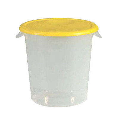Rubbermaid Commercial 572824CLE 22 Qt Round Storage Containers And