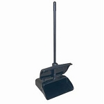 Rubbermaid Commercial 253200BLA Lobby Pro Upright Dust Pan w/ Cover Black