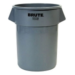 Rubbermaid Commercial 2620GRAY 20 Gallon Brute® Round Container w/out Lid Gray