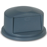 Rubbermaid Commercial 263788GY Brute® Dome Top For 2632 Containers Gray
