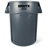 Rubbermaid Commercial 264360GY 44 Gallon Brute® Utility Container w/ Venting Channels Gray