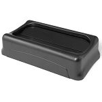 Rubbermaid Commercial 267360BK Slim Jim®  Swing Lid For Slim Jim® Containers Black