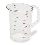Rubbermaid Commercial 3218CLE Bouncer® Measuring Cups 4 Qt. Capacity 6 Per Case Price Per Each