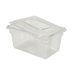 Rubbermaid Commercial 3301CLE Food Boxes & Lid 21-1/2 Gallon 15