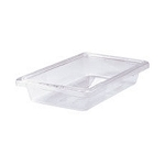 Rubbermaid Commercial 3307CLE Food Boxes 2 Gallon 3 1/2