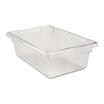 Rubbermaid Commercial 3310CLE Food Boxes 3-1/2 Gallon 6