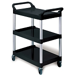Rubbermaid Commercial 342488BLA Utility Cart w/ 4