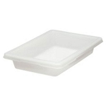 Rubbermaid Commercial 3507WHI Food Boxes 2 Gallon 3-1/2