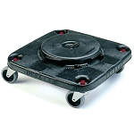 Rubbermaid Commercial 3530 Brute® Square Dolly For 3526 3536 Containers Black