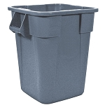Rubbermaid Commercial 353600GY 40 Gallon Brute® Square Container w/out Lid Gray
